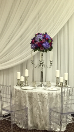 "Decor and Styling by ""A Night to Remember"""