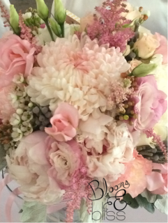 Blush and Ivory Rustic Bouquet