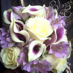 Plum and Lavender Bouquet