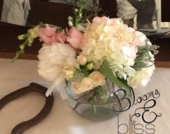 romantic wedding arrangement