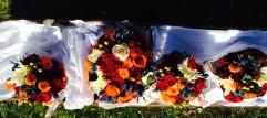 Autumn Bridal Party Bouquets